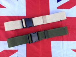 ## NEW ## CANVAS HEAVY DUTY ARMY MILITARY BELT